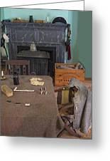 Confederate Lodging Greeting Card