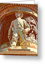 Confederate Soldier Statue I Alabama State Capitol Greeting Card