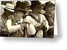 Confederate Soldiers At Ease - Brandenburg Ky Greeting Card