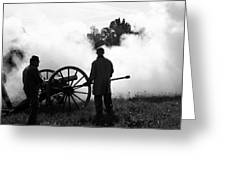 Confederate Twelve Pounder Fired - Perryville Ky Greeting Card