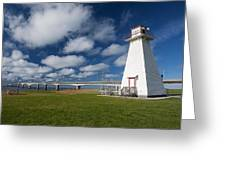 Confederation Bridge Pei Greeting Card