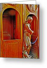 Confessional Halo Greeting Card