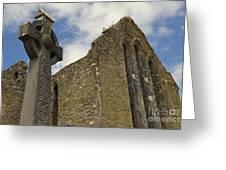 Cong Abbey, Ireland Greeting Card