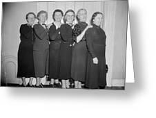 Congresswomen, 1938 Greeting Card