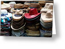 Conical Hats 02 Greeting Card