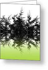 Conifer Lime Greeting Card