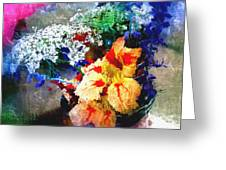 Conjuring Claude Monet Greeting Card