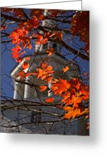 Connecticut Fall Colors Greeting Card by Jeff Folger