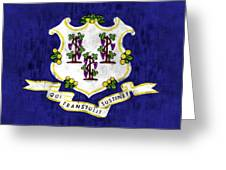 Connecticut Flag Greeting Card