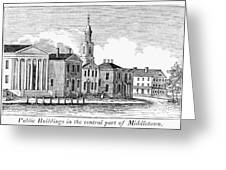 Connecticut Middletown Greeting Card