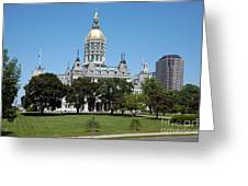 Connecticut State Capitol Hartford Greeting Card