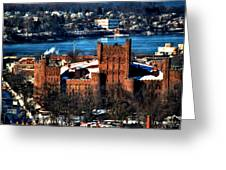 Connecticut Street Armory Winter 2013 Greeting Card