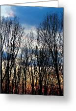 Connecticut Sunset 3 Greeting Card