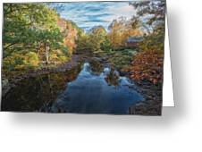 Connecticut Sunset Greeting Card