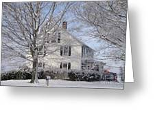 Connecticut Winter Greeting Card