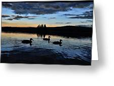 Conneticut Lake Greeting Card