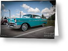 conrictrice 56 Chevy Greeting Card
