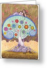 Conscious Dreaming Greeting Card