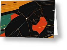 Consoling Greeting Card by Vilas Malankar