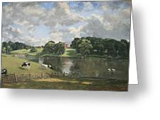 Constable's Wivenhoe Park In Essex Greeting Card