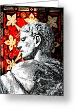 Constantine The Great Greeting Card