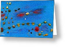 Constellation Of Pisces Greeting Card