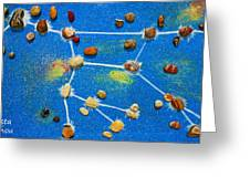 Constellation Of Ursa Major Greeting Card by Augusta Stylianou
