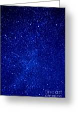 Constellation Cassiopeia  Greeting Card