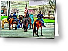 Constitution Hall Calvary Greeting Card