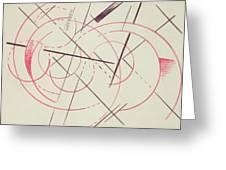 Constructivist Composition, 1922 Greeting Card