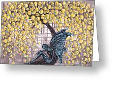 Contemplation-color Variaton Greeting Card