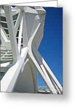 Contemporary Architecture In Valencia Greeting Card