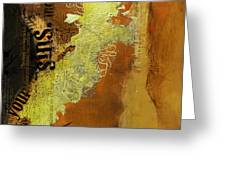 Contemporary Islamic Art 064b Greeting Card