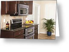 Contemporary Kitchen Greeting Card