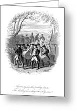 Continental Army Band Greeting Card