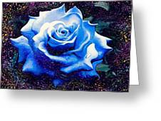 Contorted Rose Greeting Card