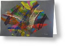 Controlled Chaos Greeting Card