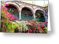 Convento De La Popa Cartagena Greeting Card