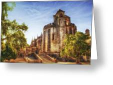 Convent Of Christ Light Greeting Card