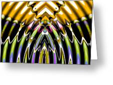 Convergent Waves 3 Greeting Card