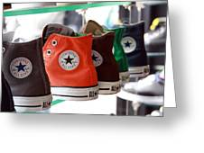 Converse Star Sneakers Greeting Card