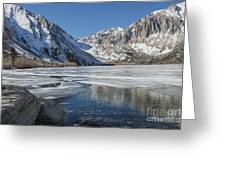 Convict Lake Morning Greeting Card