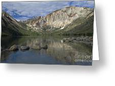 Convict Lake Reflection Greeting Card