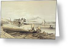 Conway Bridge, Construction Of Second Greeting Card