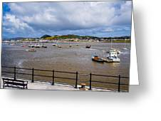 Conway Harbour Greeting Card