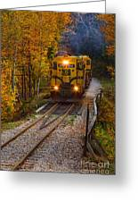 Conway Scenic Railway Greeting Card