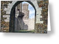 Conwy Gate Greeting Card