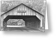 Conyers Covered Bridge Greeting Card
