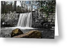 Cook Forest Waterfall Greeting Card