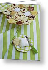 Cookies And Icing Greeting Card